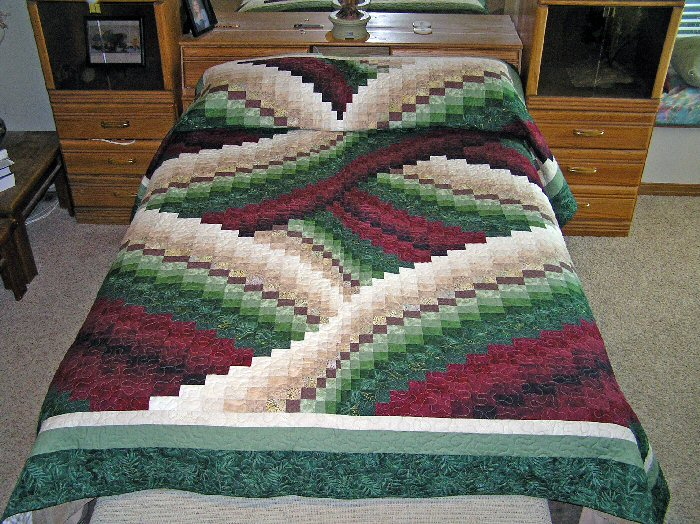 Quilting Patterns Quilt Kits Making A Quilt How To Make A Fascinating Twisted Bargello Quilt Pattern Free