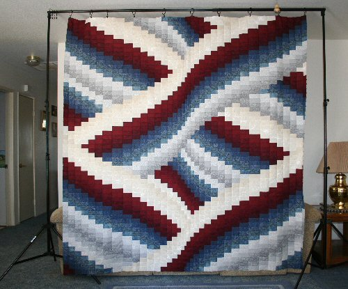 Quilting Patterns Quilt Kits Making A Quilt How To Make A Impressive Twisted Bargello Quilt Pattern Free