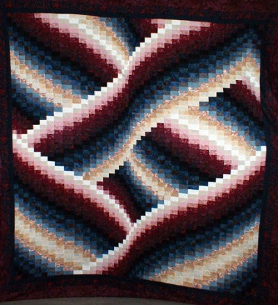 Quilting Patterns Quilt Kits Making A Quilt How To Make A Cool Twisted Bargello Quilt Pattern Free
